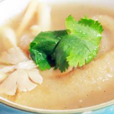 猪皮酸辣汤的做法