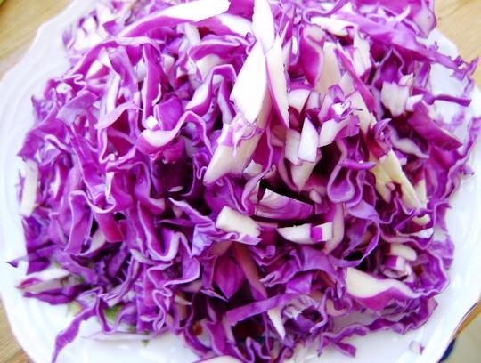 家常甘蓝紫小炒炒凉粉日本调味料有哪些图片