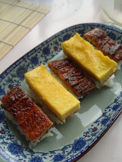 海味寿司的做法_家常海味寿司的做法