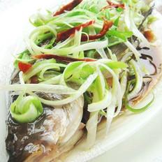 清蒸桂鱼  的做法