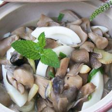 草菇滑蛋白