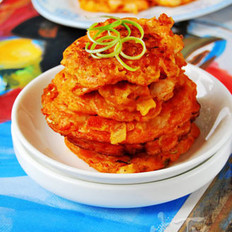 泡菜海鲜饼的做法