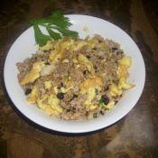 豆豉蛋炒饭