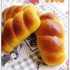 南瓜火腿面包卷