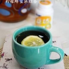 柠檬蜂蜜冰红茶的做法
