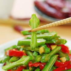辣炒刀豆的做法