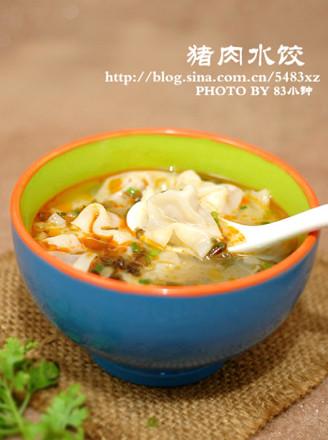 鲜肉水饺的做法