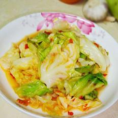 剁椒手撕圆白菜的做法