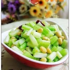 辣炝芹菜黄豆