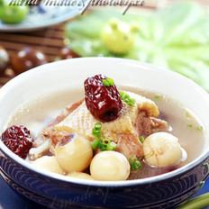 鲜莲红枣水鸭汤 的做法