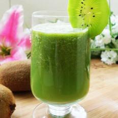 黄瓜猕猴桃汁的做法