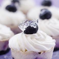 蓝莓大理石乳酪蛋糕的做法