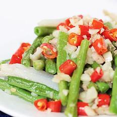 小炒蔬菜的做法