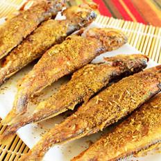 椒鹽小黃魚的做法