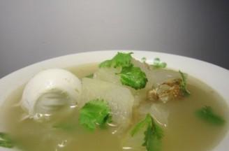 咸鸭蛋冬瓜汤的做法