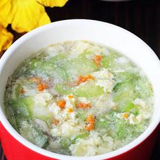 海胆丝瓜汤的做法