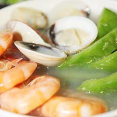 涼瓜海鮮湯的做法