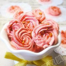 蛋白玫瑰小甜饼的做法