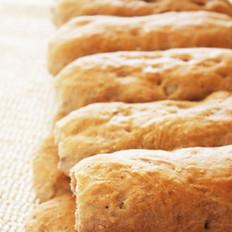 燕麦核桃面包的做法
