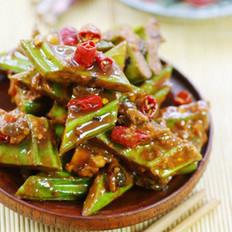 豉椒酱刀豆的做法