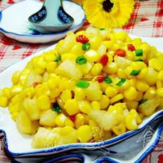 香梨炒玉米