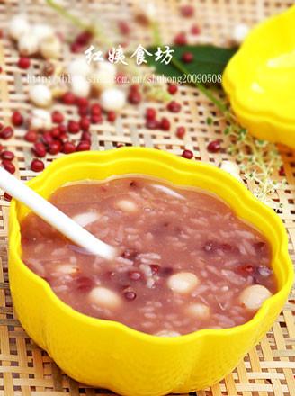 莲子百合红豆粥的做法