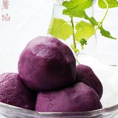 紫薯馅的做法