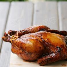 红葱头烤鸡   的做法