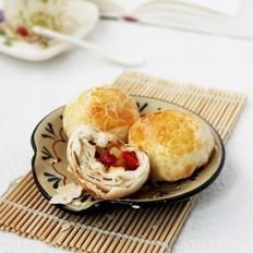 酥皮水果月饼