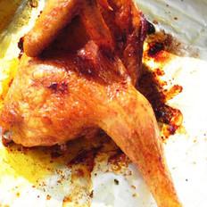 娘惹料烤鸡的做法
