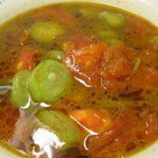 西红柿丝瓜汤
