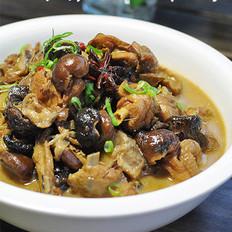 野香菇炖柴鸡 的做法