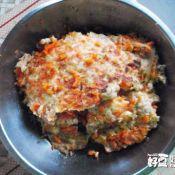 胡萝卜瘦肉鸡蛋饼