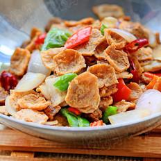 干锅油豆筋的做法