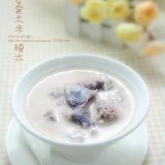 紫薯玉米糖水