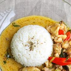 泰式绿咖喱鸡饭的做法