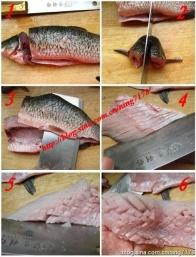 鱼怎么改刀好看图解_花式松鼠鱼图解的做法_怎么做花式松鼠鱼图