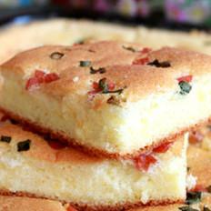 火腿肠葱花咸香蛋糕