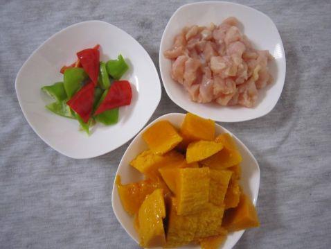 芒果鸡的做法