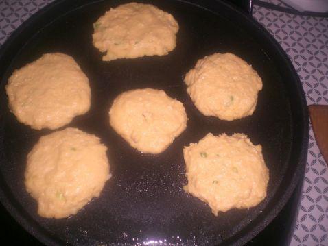 豆渣鸡蛋玉米饼