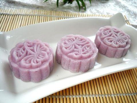 紫薯無花果醬餡冰皮月餅wf.jpg