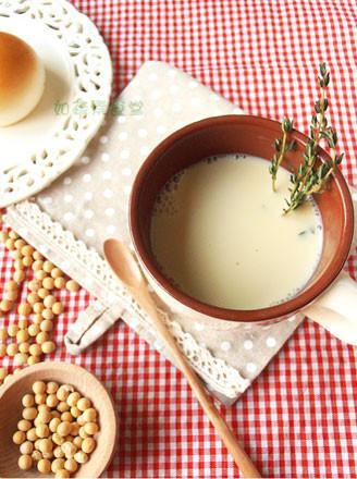 百里香豆浆的做法