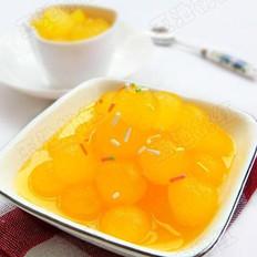 橙汁冬瓜球  的做法