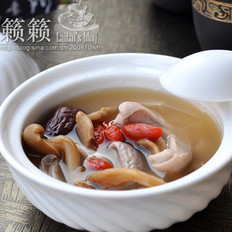 真姬菇肚片汤