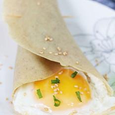 绿豆煎饼灌鸡蛋的做法