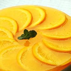 鲜橙果冻酸奶芝士蛋糕的做法