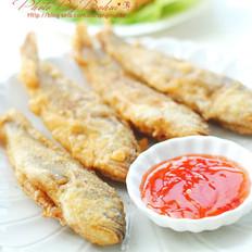 香酥小黃魚的做法