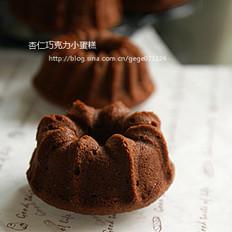 杏仁巧克力小蛋糕