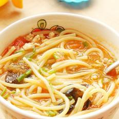 茄汁意大利汤面的做法
