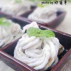 香甜芋泥的做法